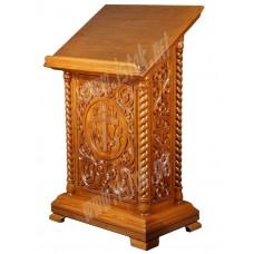 Аналой деревянный резной с дверцей 50000 руб