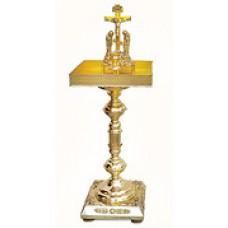 мет Крышка панихидного стола на подставке песочная 25700р