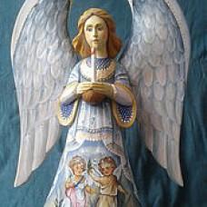 Ангел деревянный 3000руб. ручная работа.