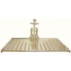мет Крышка панихидного стола на 100 свечей 22800р