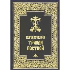 Богослужения Триоди Постной мф тв ПСТГУ 2012