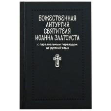 Божественная литургия святителя Иоанна Златоуста с параллельным переводом мф тв Никея 2017