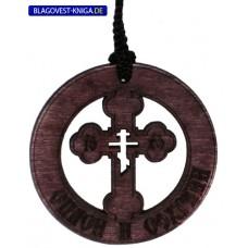 Автоикона крест в круге 75руб