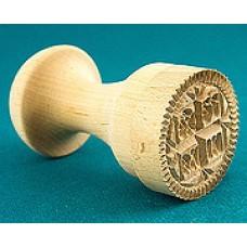 Печать Д25мм. для просфор деревянная 550руб.