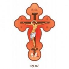 Крест деревянный самоклейка 60руб
