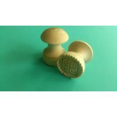 Печать Д45мм.для просфор деревянная    450руб