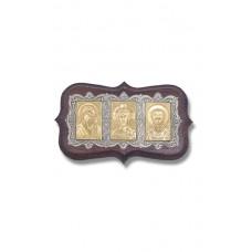 114-018А икона серебро автомобильная