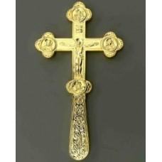 Крест водосвятный №1-1 золочение 4500руб
