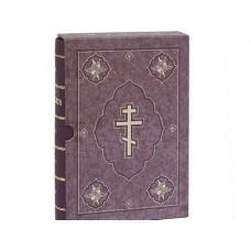 1158 Библия бордовая в коробке 1900р РБО 2002