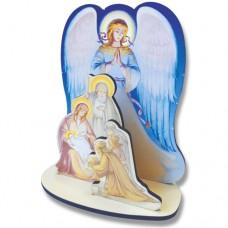 Вертеп с ангелом Сборная модель 80р