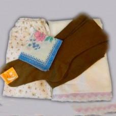 Белье женское нательное (панталоны, начнушка, чулки) 300руб
