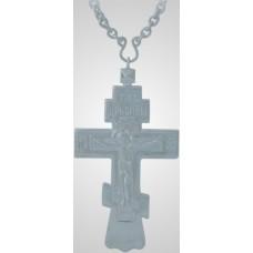 Крест иерейский кабинетный с цепью серебрение 5100 руб