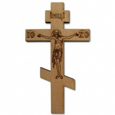 Крест деревянный на скотче 40руб