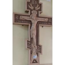 Крест деревянный резной 8-ми конечный 52см 18000руб
