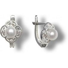 27-014 Серьги серебро 750руб