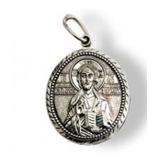 00010 Подвеска серебро Иисус Христос