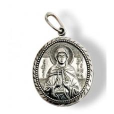 00013 Подвеска серебро Антонина