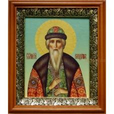 Холст 18х22 басма 1700руб Владимир князь