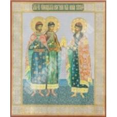 Оргалит 18х24  Борис и Глеб, кн.Роман