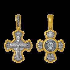 04.008 Крест серебро золочение Калерия (Валерия) 2100руб