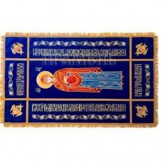 Плащаница Богородичная вышивка бархат 90/67 57000руб